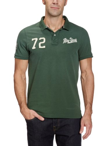 Hilfiger Denim Men's 1957815729 Polo Shirt Green (312 Pineneedle) 52