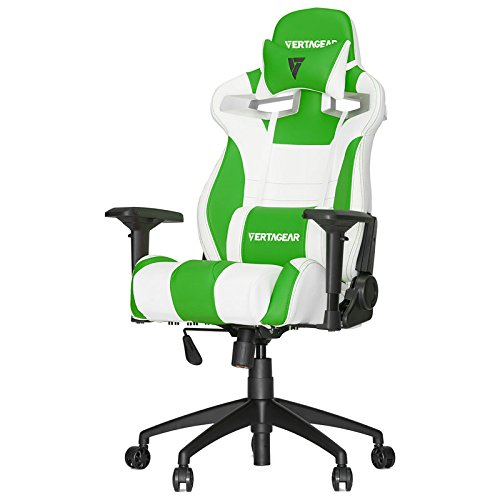Vertagear Racing Series S-Line SL4000 Gaming Chair Green and White