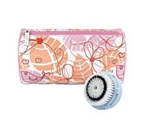 Clarisonic Replacement Delicate Skin Brush Head with Free Travel Bag