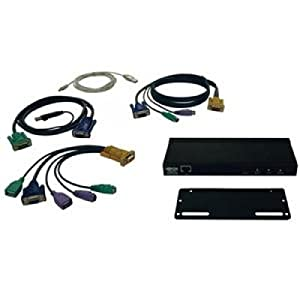 TRIPP LITEIP ip remote access unit (kvm over ip) for kvm swithes or servers - NEW - Retail - B051-000