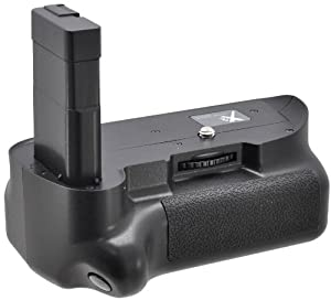 Xit XTNG5100 Pro Series Battery Grip for the Nikon D5100, D5200 and D5300 Digital SLR Cameras (Black)