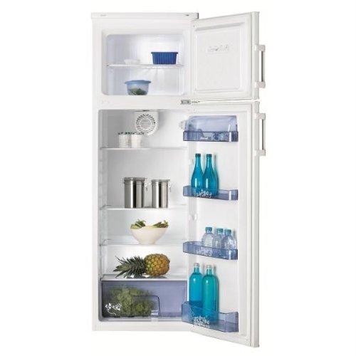 Brandt BFD2254BW réfrigérateur-congélateur - réfrigérateurs-congélateurs (Autonome, Placé en haut, A++, Blanc, ST, 4*)