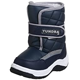 Tundra Snow Kids Boot (Toddler/Little Kid),Navy,7 M US Toddler