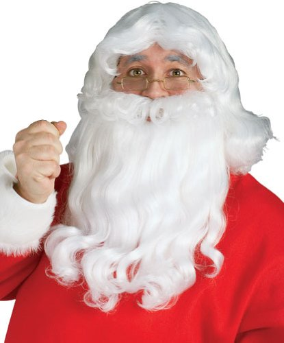 Rubie's Costume Long Santa Beard And Wig Set