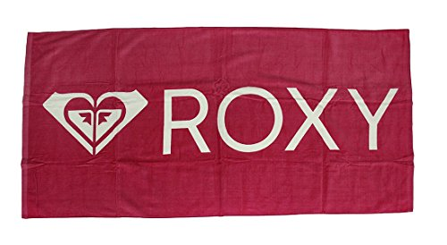 Bright Pink Roxy Cotton Velour Beach Towel 28 X 58 in. (Great Lakes 202 compare prices)