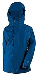 White Sierra Youth Trabagon Jacket, Nautical Blue, Large