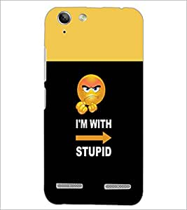PrintDhaba Quote D-4055 Back Case Cover for LENOVO A6020a46 (Multi-Coloured)