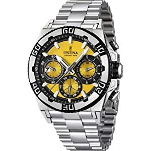 Men's Watch Festina Chrono Bike F16658/7 Tour de France 2 Years Warranty