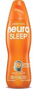 Neuro Nutritional Supplement Drink, Sleep, 14.5-Ounce Bottles (Pack of 12)