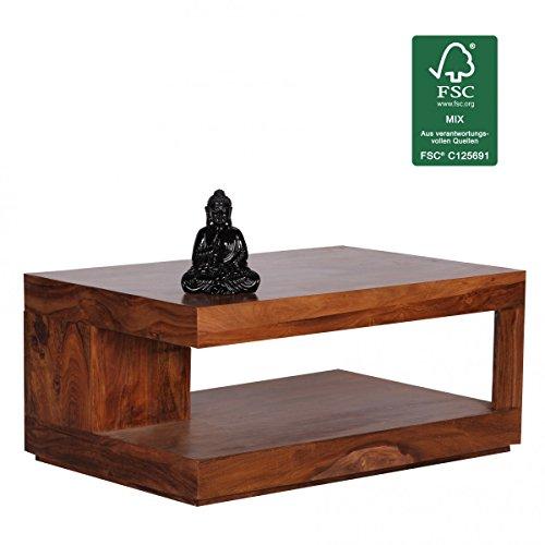 FineBuy-Couchtisch-Massiv-Holz-Sheesham-90-cm-breit-Wohnzimmer-Tisch-Design-dunkel-braun-Landhaus-Stil-Beistelltisch-Natur-Produkt-Wohnzimmermbel-Unikat-modern-Massivholzmbel-Echtholz-rechteckig