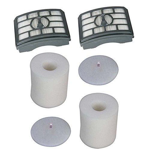 Kit for Shark Rotator Pro Lift-Away NV500 HEPA Filter & Foam Filter Kit, Fits Shark Rotator Pro Lift-Away NV500, Compare to Part # XHF500 & XFF5 (Shark Rotator Foam Filter Nv500 compare prices)