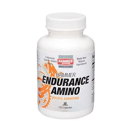 Hammer Nutrition Endurance Amino Caps - 120 Count Bottle - EAS