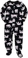 Carter's Boys Footed 1 Piece Fleece Sleeper Pajamas
