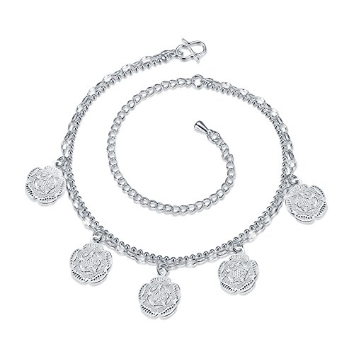 [Crystal Fashion Jewelry Anklet Ankle Chains No Fading Beach CZ Foot Chains for Women Bracelet] (Brazilian Costume Ideas For Men)