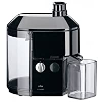 Braun MP80 Juice Extractor, 220-volt With Acucraft Acupwr Plug Kit, Black WILL NOT WORK IN USA/CANADA OUTLETS, 220VOLT