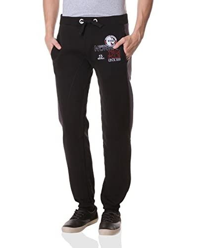 Geographical Norway Pantalone Felpa Myosotis [Nero]