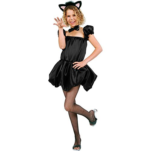 Kid's Black Kitty Costume (Size:Small 4-6)