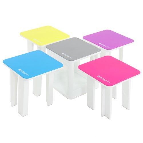 ドッペルギャンガー アウトドア 5in1テーブルチェアセット