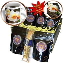 PS Flowers - Daffodils - White and Orange Flowers - Spring Photography - Coffee Gift Baskets - Coffee Gift Basket