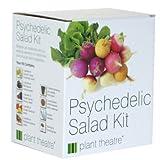 Lawn & Patio - Kit Psychedelischer Salat von Plant Theatre - 5 fantastische Salatsorten zum Z�chten - Ein tolles Geschenk