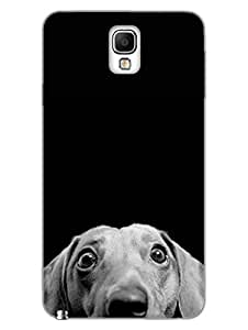 Cute Pet Dog - For Animal Lovers - Hard Back Case Cover for Samsung Note3 - Superior Matte Finish - HD Printed Cases and Covers
