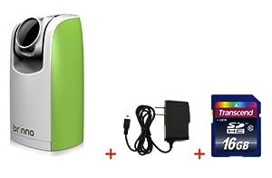 Brinno TLC200 Time Lapse Green Camera + FREE Wall Power Supply + FREE 16GB SDHC Card