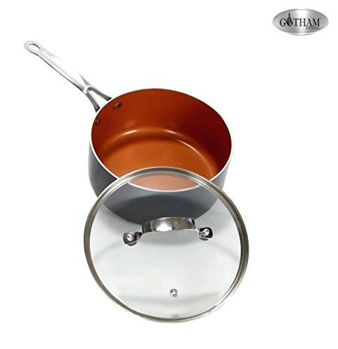Gotham Steel 10 Piece Kitchen Nonstick Frying Pan And