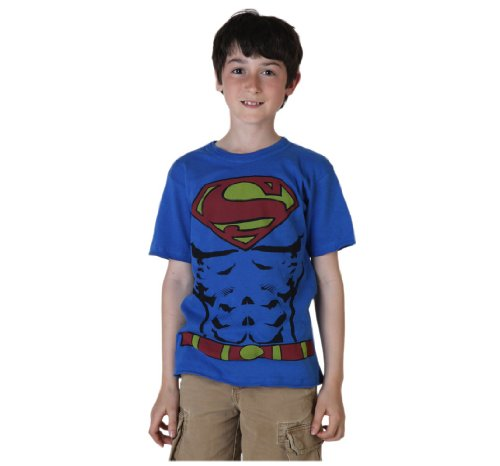 Big Boys' Muscle Costume Superman T-Shirt
