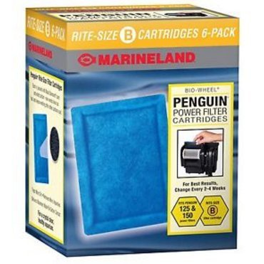 BEST PRICE Marineland Rite-Size Cartridge B, 6-Pack, New (Topfin Power Filter 40 compare prices)