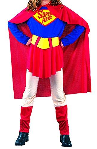 Ace Halloween Children's Kids Girls Justice League Superwoman Costumes (5Y-6Y) (Superwoman Costumes For Girls)