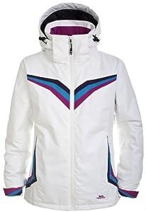 Trespass Women's Lightspeed Ski Jacket - White, X-Small
