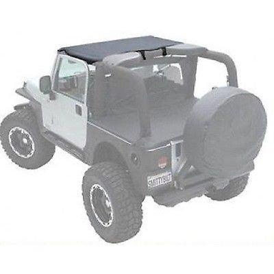 1997-2006 Jeep Wrangler TJ Smittybilt Black Soft Top Outback Standard Bikini Top - 90104 Windshield