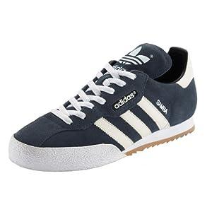 adidas Samba Suede Mens Trainers 9 MARINE/WHT