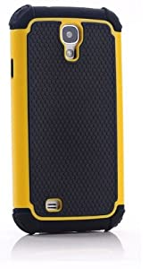 CaseMore Orange Plastic + Silicon Material Protective Armor Case for Samsung Galaxy S4 S IV i9500