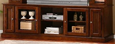 Deep Oak Finish TV Console - Coaster 700231 TV Console