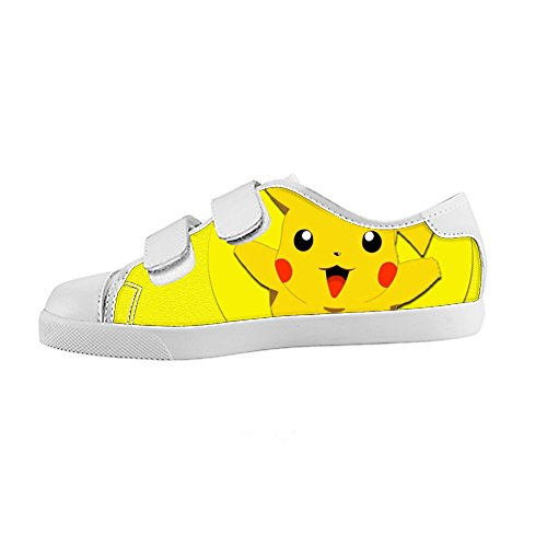 Kids Pikachu Canvas Sneaker with velcro