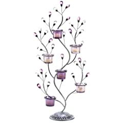 Gifts & Decor Jewel Tree Candelabra Candleholder Centerpiece Stand