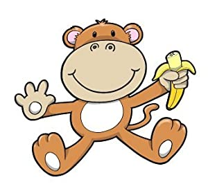 Monkey Cartoon Baby Cartoon Baby Monkey with
