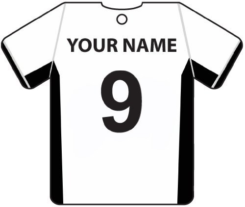 PERSONALISED FULHAM FOOTBALL SHIRT CAR AIR FRESHENER
