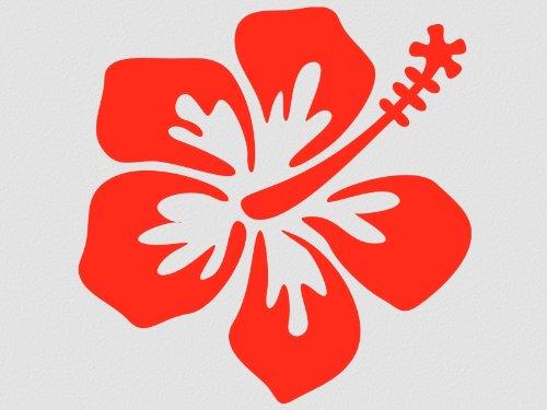 Wandbild Wandsticker Hibiscus Blüten 3 Stück Hibiskus