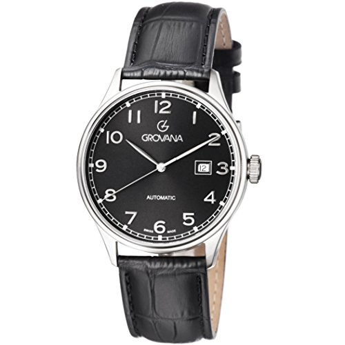 Grovana Grovana Men's Black Dial Automatic Watch 1190.2537 Men's Watch 1190.2537