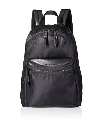 French Connection Women's Piper Nylon Backpack, Black
