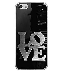Love 2D Hard Polycarbonate Designer Back Case Cover for Apple iPhone 4