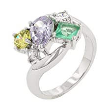 buy J Goodin Bejeweled Cluster Cocktail Ring Size 10