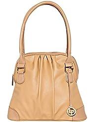 Lino Perros Women's Handbag (Beige) - B01IVGJFGE