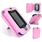 VTech InnoTab 3 Pink PU Leather Stand Flip Case Cover