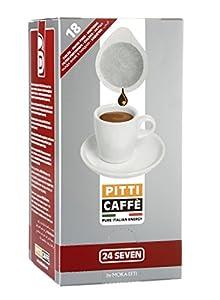 Pitti Caffe 24 Seven Espresso Pods (Pack of 18)