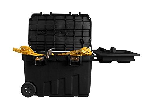 Stanley-Mobile-Montagebox-90-Liter-768x49x476cm-herausziehbarer-Handgriff-Metallverschlsse-Ablage-1-92-978