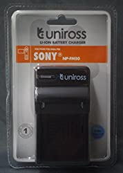 Uniross Charger For Sony NP-FM50