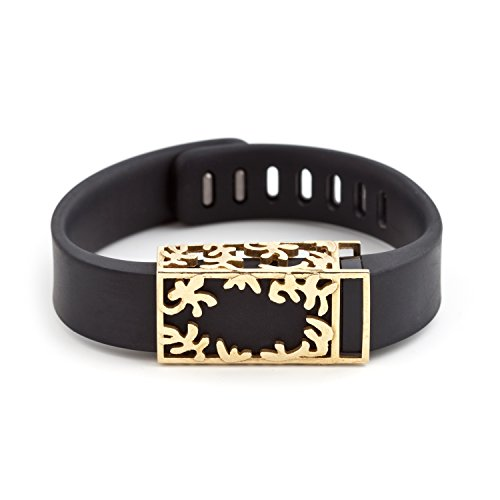polished brass Matisse slide for Fitbit Flex